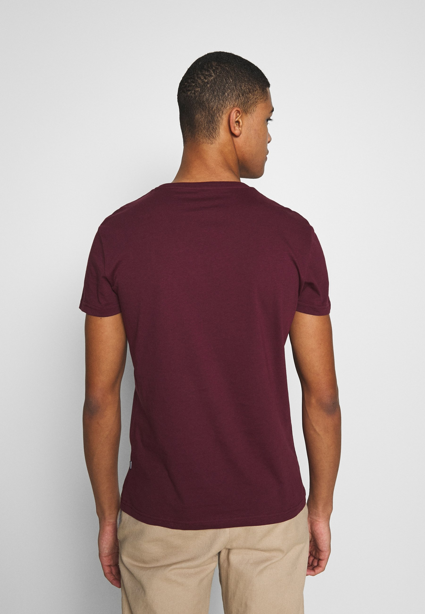 Pier One T-shirts - Bordeaux/vinrød