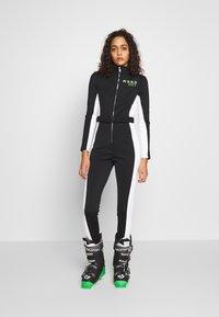Missguided - SKI SNOW FITTED - Tuta jumpsuit - black - 0