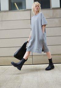 MM6 Maison Margiela - DRESS - Day dress - grey - 2