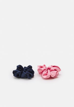 FGMEGAN SCRUNCHIE 2 PACK - Hair styling accessory - candy pink/navy