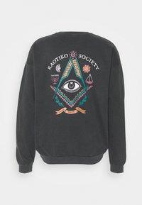 UNISEX CREW TIE DYE MASON - Sweatshirt - black