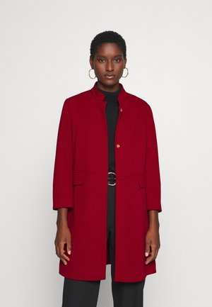 Short coat - deep red