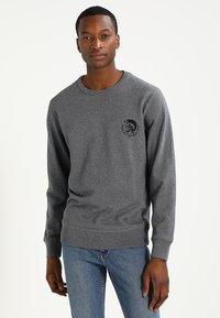 Diesel - UMLT-WILLY SWEAT-SHIRT - Sweater - grau - 0
