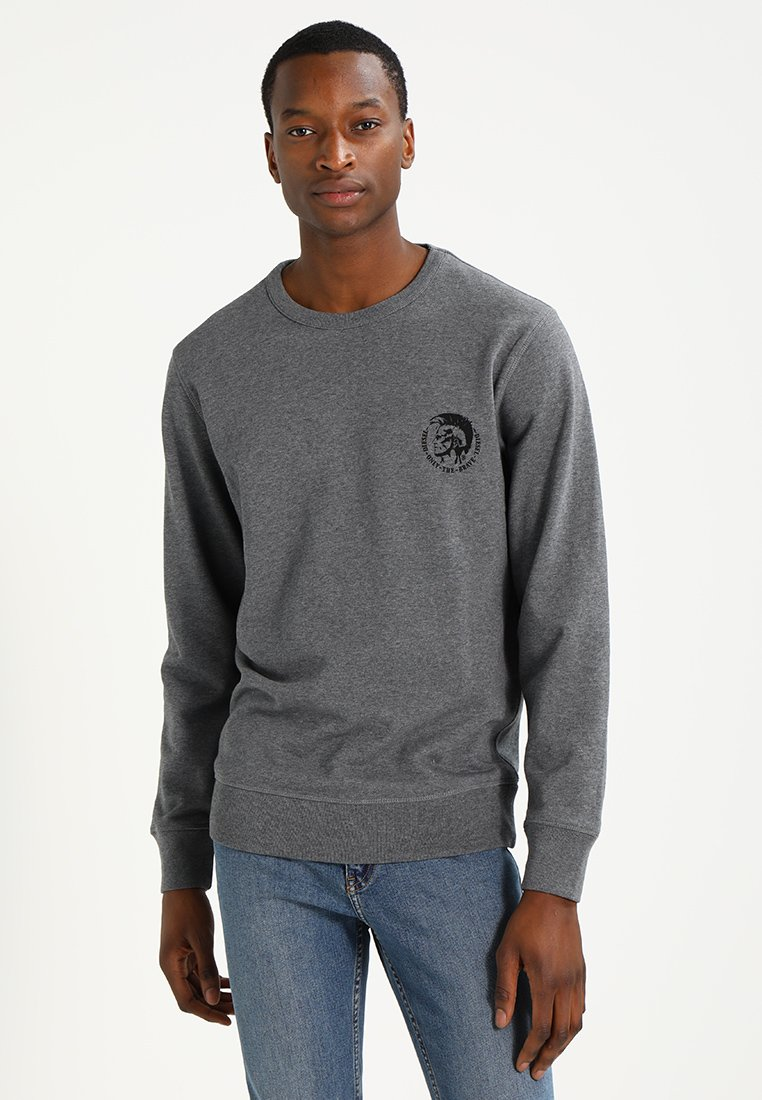 Diesel - UMLT-WILLY SWEAT-SHIRT - Sweater - grau