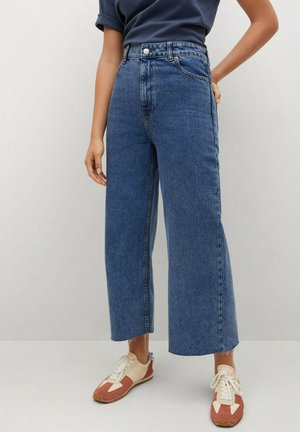 Flared Jeans - dark blue