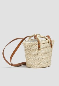 PULL&BEAR - Tote bag - sand - 1