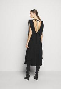Victoria Beckham - DOUBLE FLARE MIDI - Cocktail dress / Party dress - black - 2