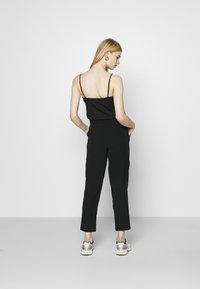 JDY - JDYXANDER ANKLE PANT  - Trousers - black - 2