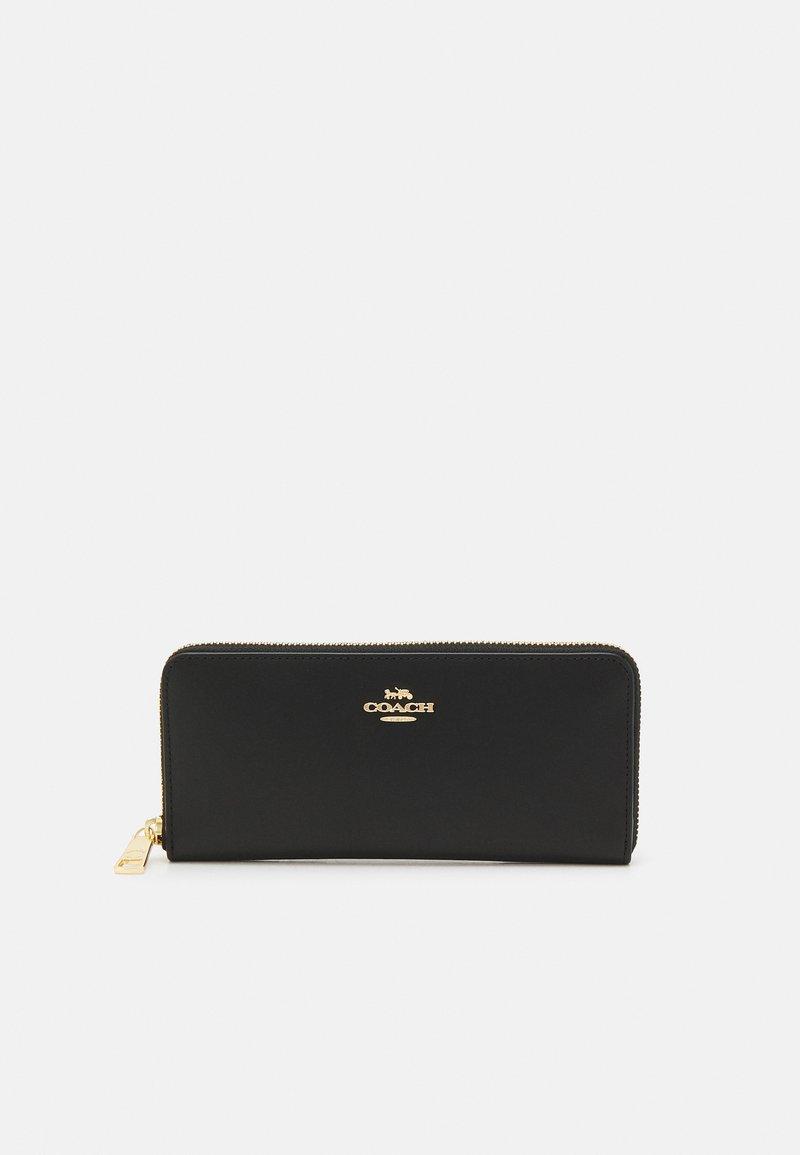 Coach - BOX PROGRAM SLIM ACCORDION ZIP - Wallet - gold-coloured/black