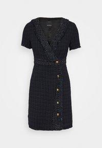 Pinko - RINALDO DRESS - Robe fourreau - blue/nero - 0