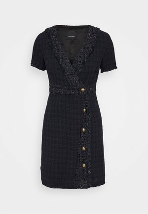 RINALDO DRESS - Robe fourreau - blue/nero