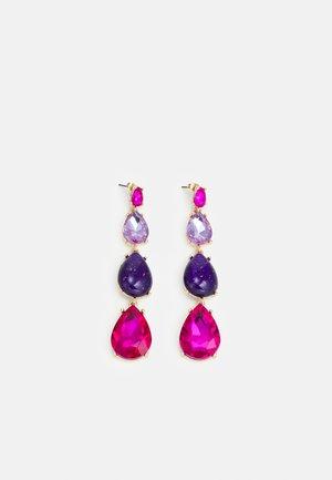 PCGIANA - Earrings - purple