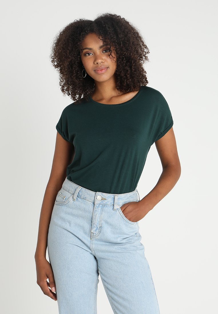 Vero Moda - Basic T-shirt - ponderosa pine