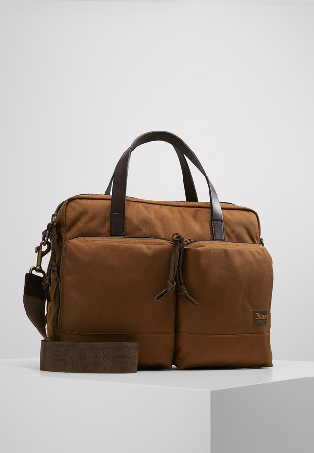 DRYDEN BRIEFCASE - Attachetasker - whiskey