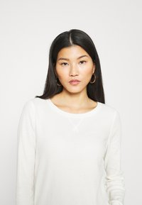 GAP - WAFFLE - Long sleeved top - ivory frost - 5