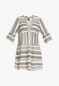 Vero Moda - VMDICTHE TUNIC - Day dress - birch/dicthe/black