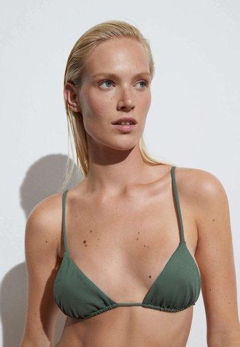 SLIDE TRIANGLE - Bikini top - green