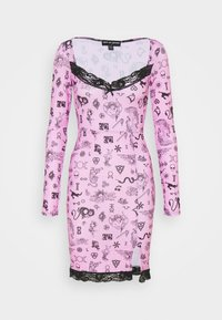 NEW girl ORDER - SYMBOLS DRESS - Day dress - pink - 0