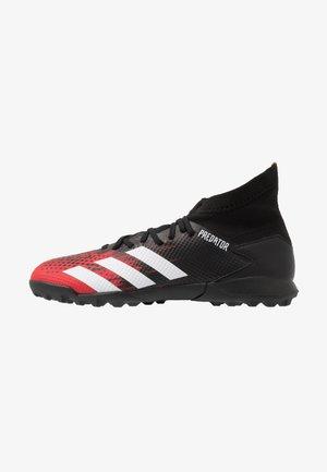 PREDATOR 20.3 TF - Fotbollsskor universaldobbar - core black/footwear white/active red