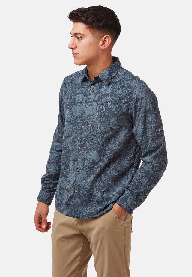NOSILIFE LESTER - Shirt - steelblue pr