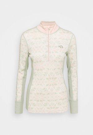 ELSE - Long sleeved top - slate
