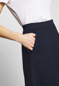 Esprit - SKIRT - A-line skirt - navy - 4