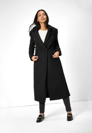 LANGER WOLLMANTEL - Classic coat - schwarz