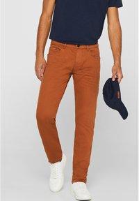 edc by Esprit - Slim fit jeans - rust brown - 0