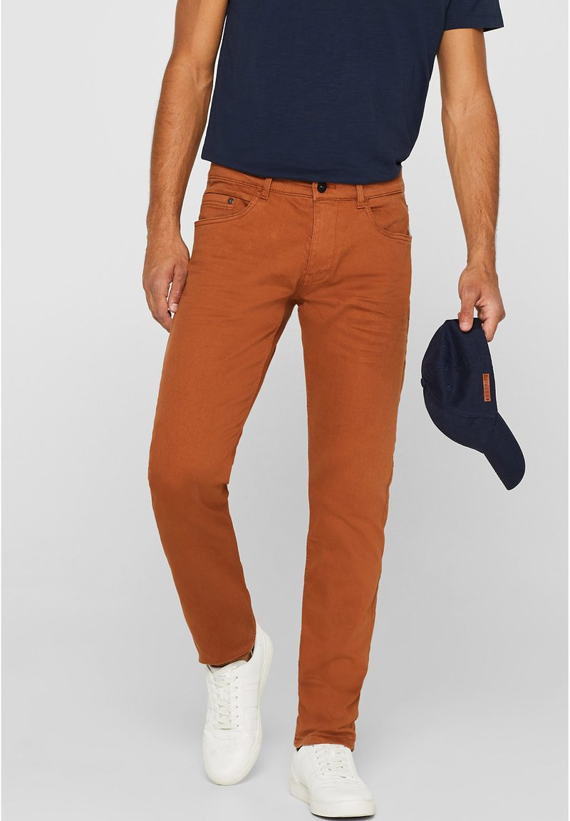 edc by Esprit - Slim fit jeans - rust brown
