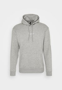 Good For Nothing - FITTED GREY MICRO TAPED BRANDED HOOD - Mikina - grey - 0