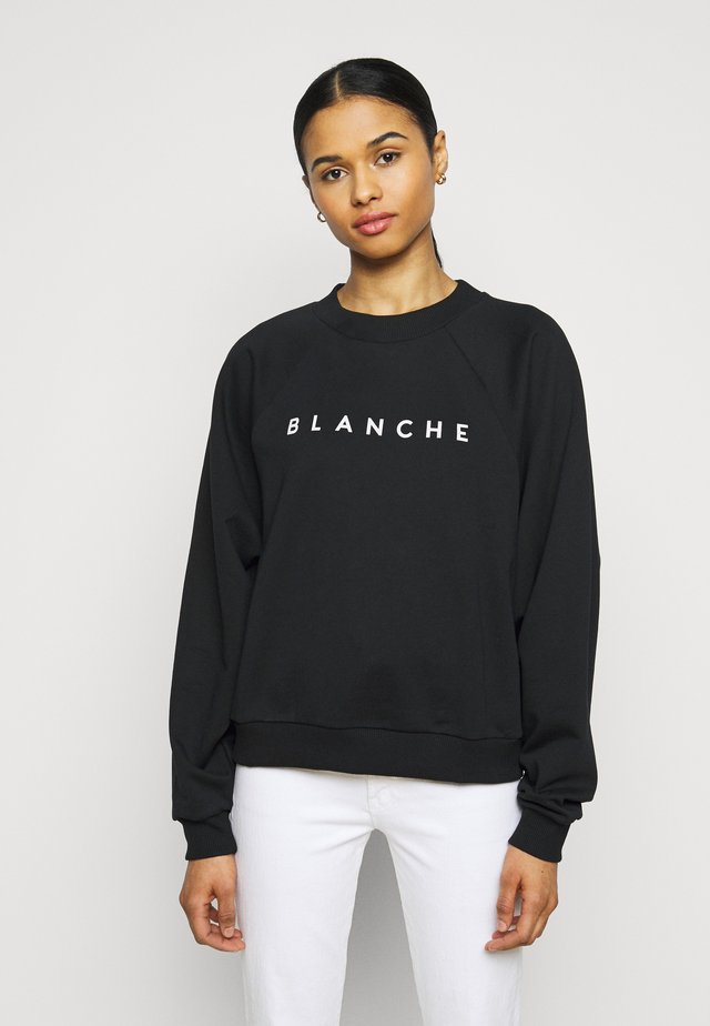 HELLA EXCLUSIVE - Sweatshirt - black/white