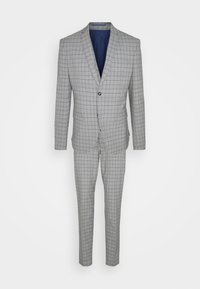 Isaac Dewhirst - THE FASHION SUIT PIECE CHECK - Completo - grey - 15