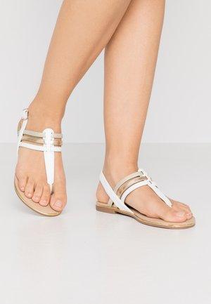 Sandály s odděleným palcem - white