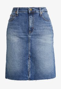 SKIRT - Denim skirt - dark blue denim