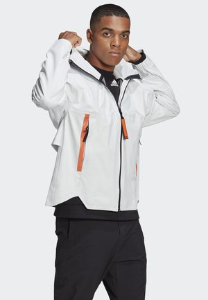 MYSHELTER URBAN RAIN.RDY OUTDOOR - Waterproof jacket - white