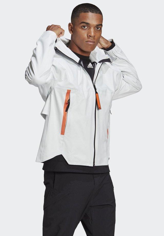 MYSHELTER - Waterproof jacket - white
