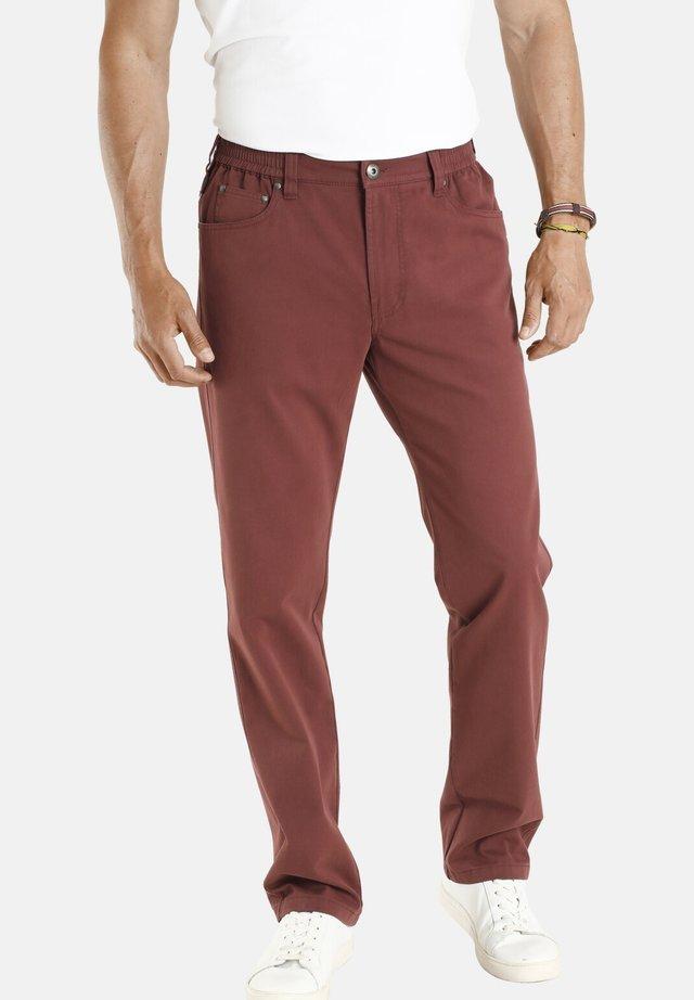 DAG - Straight leg jeans - rot