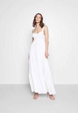 YASWINONA STRAP MAXI DRESS - Robe de cocktail - star white