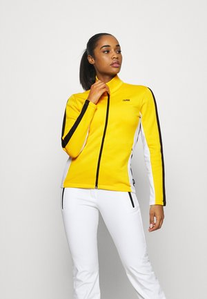 LADIES - Fleece jacket - sunflower/white/black