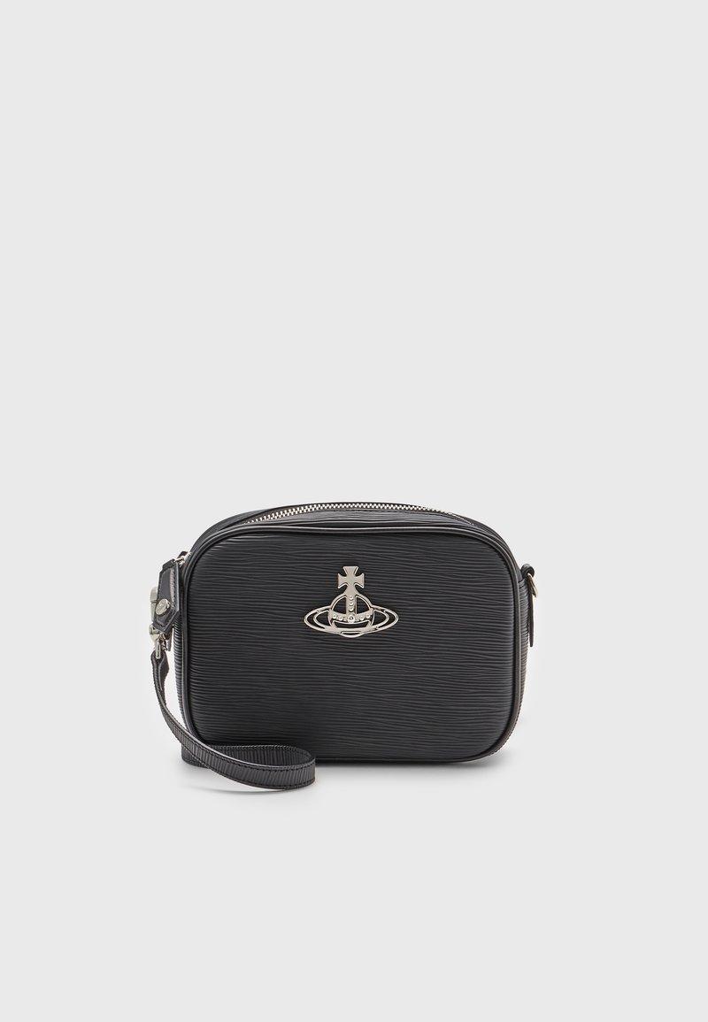 Vivienne Westwood - POLLY CAMERA BAG - Across body bag - black