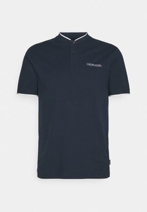 STRETCH TIPPING  MAO SLIM FIT - Polo shirt - navy
