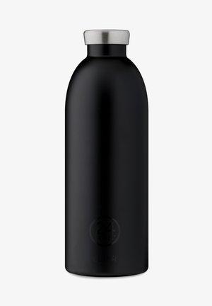 TRINKFLASCHE CLIMA BOTTLE FLORAL STEEL - Drikkeflasker - tuxedo black