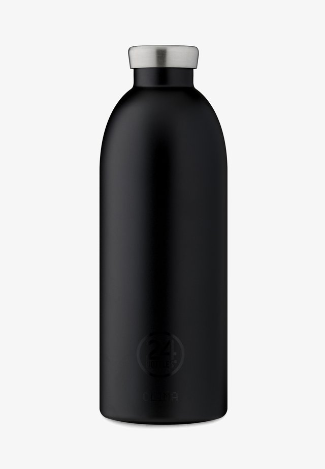 TRINKFLASCHE CLIMA BOTTLE FLORAL STEEL - Gourde - tuxedo black