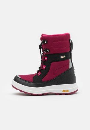 REIMATEC LAPLANDER UNISEX - Winter boots - dark berry