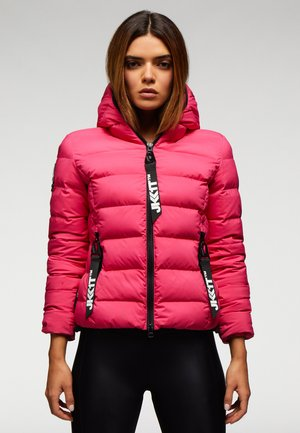 Down jacket - strong pink