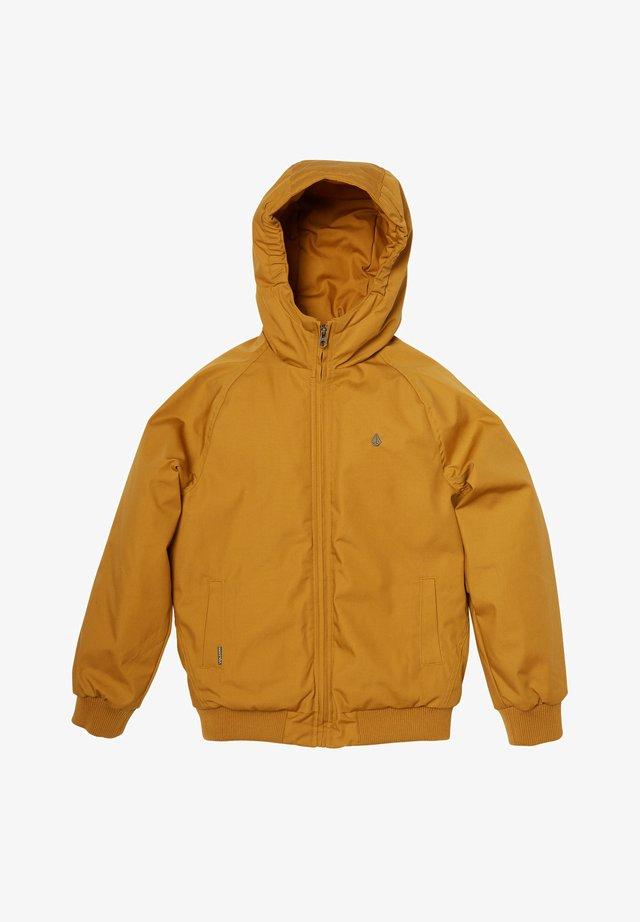 HERNAN - Winter jacket - golden_brown
