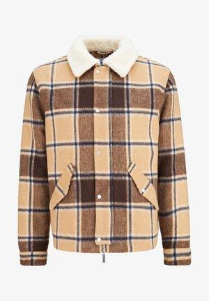 Light jacket - camel check