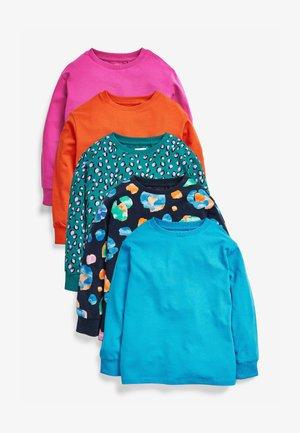 5 PACK - T-shirt à manches longues - multicoloured