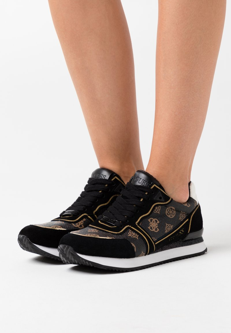 Guess - AGOS - Trainers - brown/ocra