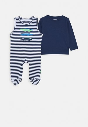 LONGSLEEVE SET - Sleep suit - dark tinte
